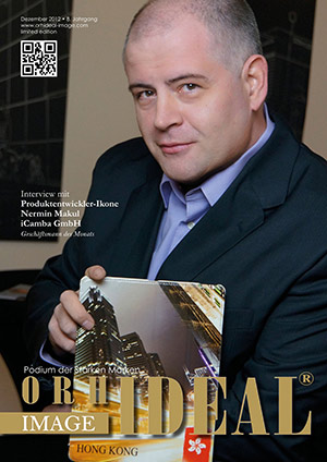 Cover Orhideal IMAGE Magazin Magazin Dezember 2012 mit Nermin Makul - iCamba GmbH