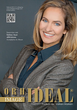 Cover Orhideal IMAGE Magazin Magazin Februar 2013 mit Sabine Aust - all4visions