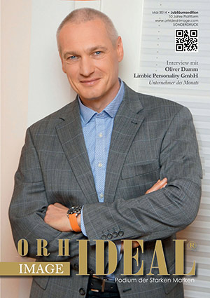 Cover Orhideal IMAGE Magazin Magazin Mai 2014 mit Oliver Damm - Limbic Personality GmbH