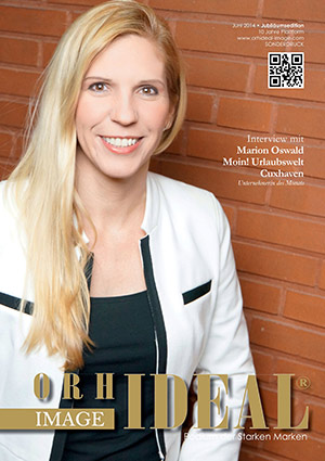 Cover Orhideal IMAGE Magazin Magazin Juni 2014 mit Marion Oswald - Moin! Urlaubswelt Cuxhaven