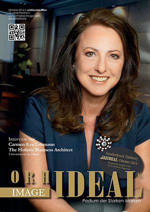 Cover Orhideal IMAGE Magazin Magazin Oktober 2014 mit Carmen Eva Leitmann - The Holistic Business Architect