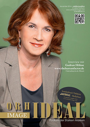 Cover Orhideal IMAGE Magazin Magazin November 2014 mit Gudrun Höhne - www.thehumanfactor.de