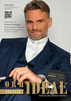 Cover Orhideal IMAGE Magazin Magazin November 2014 mit Carsten Somogyi - Management Training & Personal Coaching