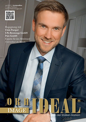 Cover Orhideal IMAGE Magazin Magazin Juni 2015 mit Chris Pampel - CPa Beratungs GmbH, Pato GmbH
