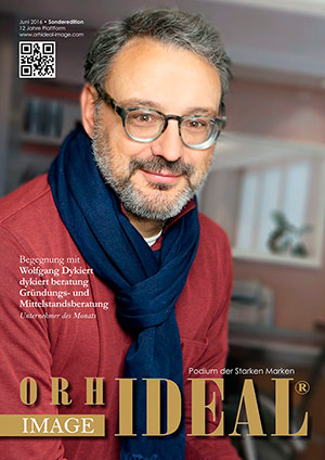 Cover Orhideal IMAGE Magazin Magazin Juni 2016 mit Wolfgang Dykiert - dykiert beratung