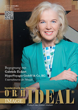 Cover Orhideal IMAGE Magazin Magazin Juni 2019 mit Gabriele Eckert - HyperVoyager GmbH & Co. KG