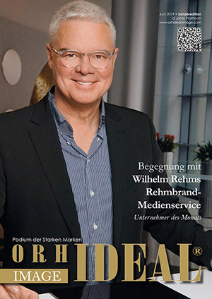 Cover Orhideal IMAGE Magazin Magazin Juni 2019 mit Wilhelm Rehms - Rehmbrand-Medienservice