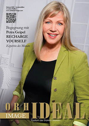 Cover Orhideal IMAGE Magazin Magazin Februar 2020 mit Petra Geipel - Recharge Yourself